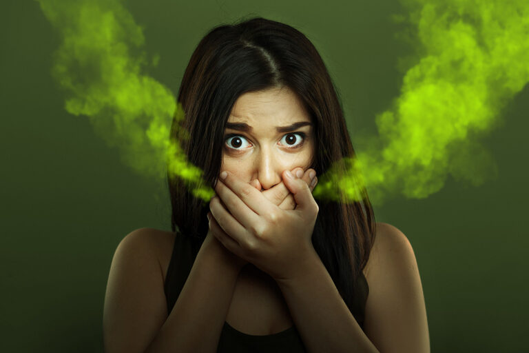 What Bad Breath Warns of?
